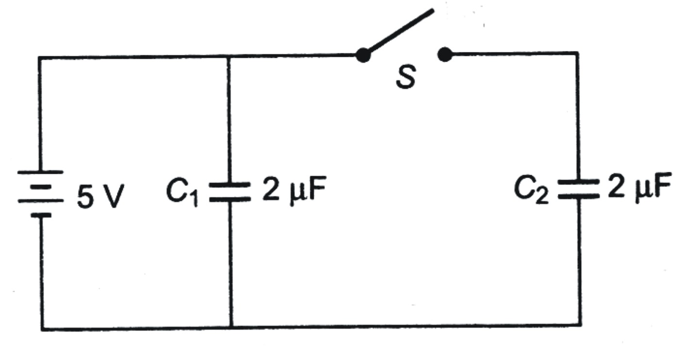 Electrostatic Potential And Capacitance Previous Years Questions Charge On A Capacitors Plates 5