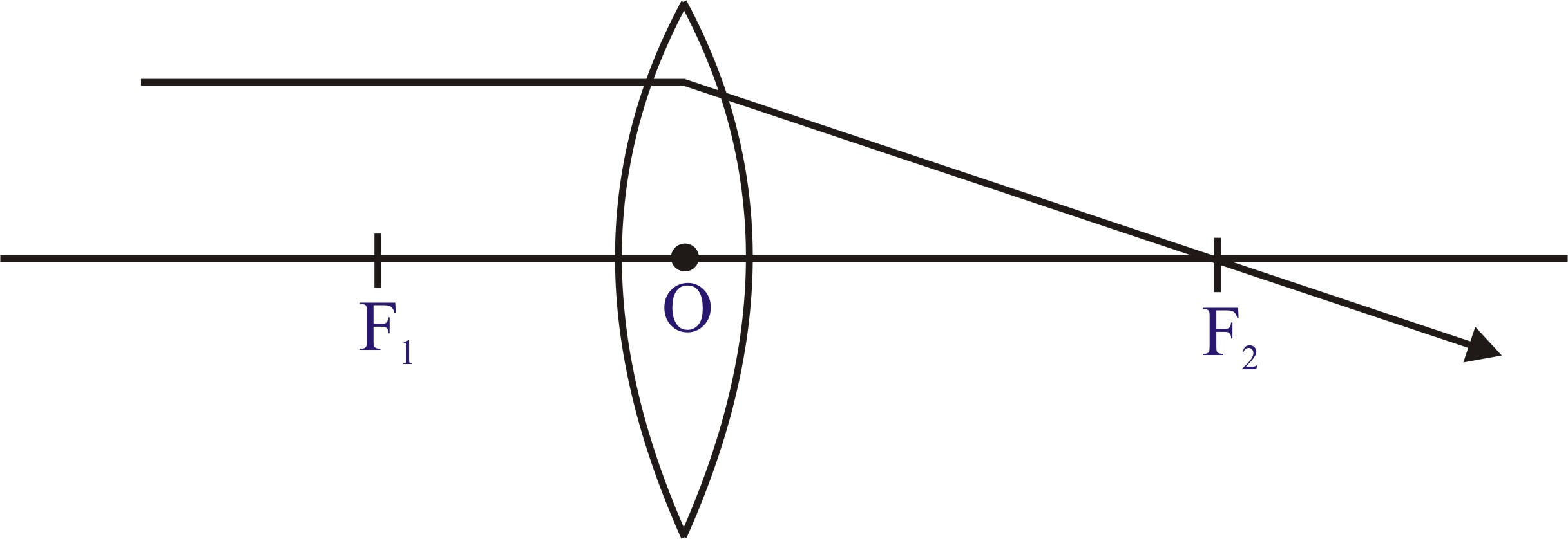 Cbse class 10 class x physics light reflection and refraction the principal axis is an imaginary line passing through the optical centre and the two centre of curvature of the lens rays parallel to the principal axis pooptronica