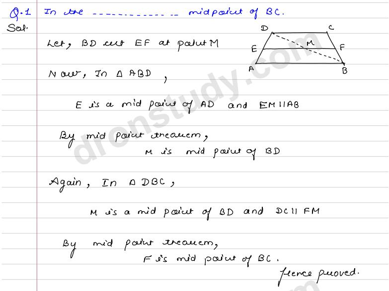 quadrilaterals and parallelograms ex 9c r s aggarwal