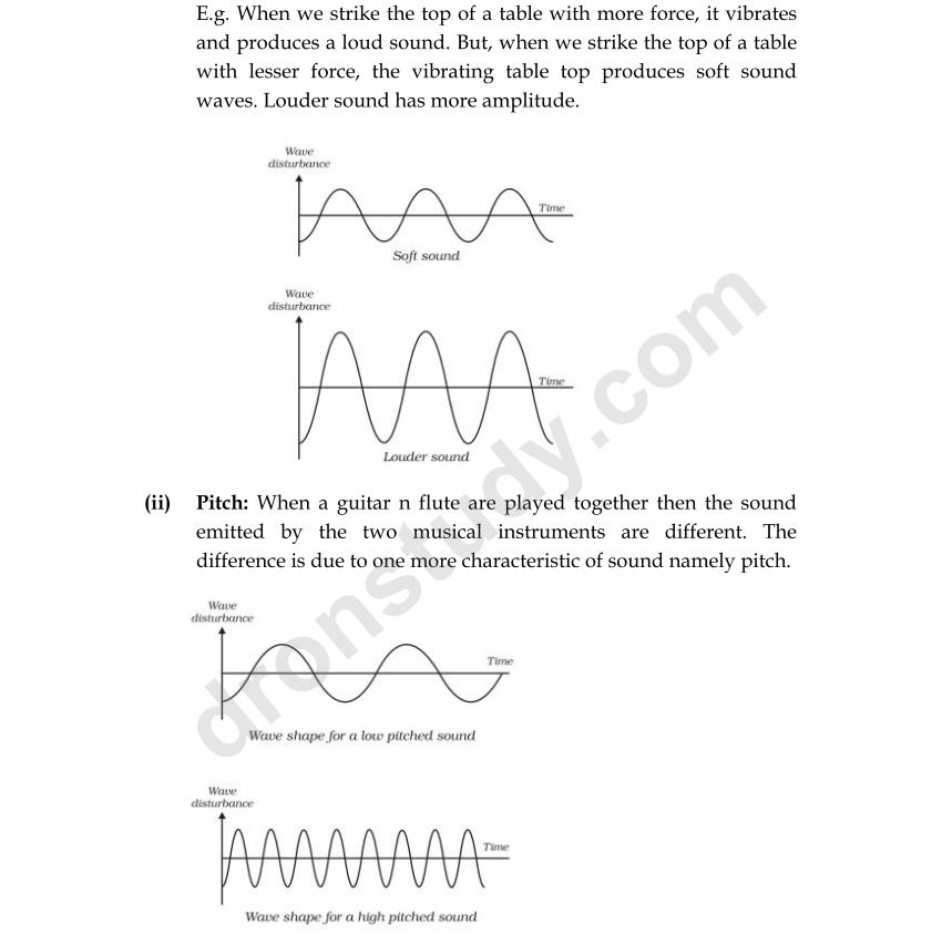 printable worksheets  u00bb soft and loud sounds worksheets printable worksheets guide for children CBSE Projects mycbseguide class 9 physics