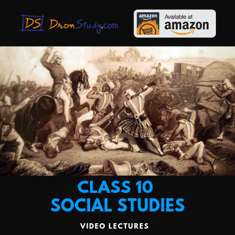 NCERT Solutions for Class 10 Social Studies - CBSE - DronStudy com