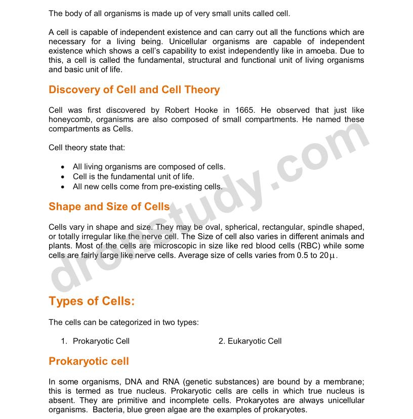 9th Ncert Science Book