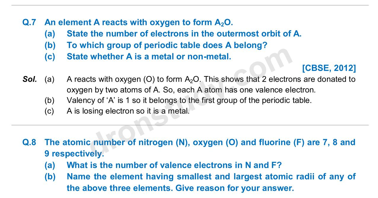 Previous Year Questions - Periodic Classification_04