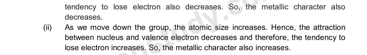 Previous Year Questions - Periodic Classification_17