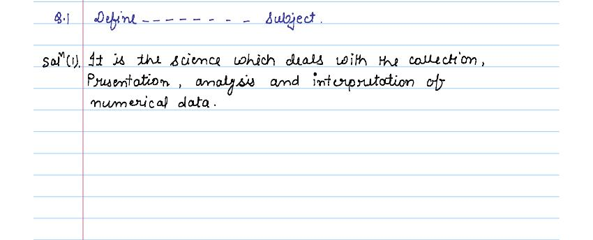 solution of exercise _14A statistics of class 9th by jiendra_01