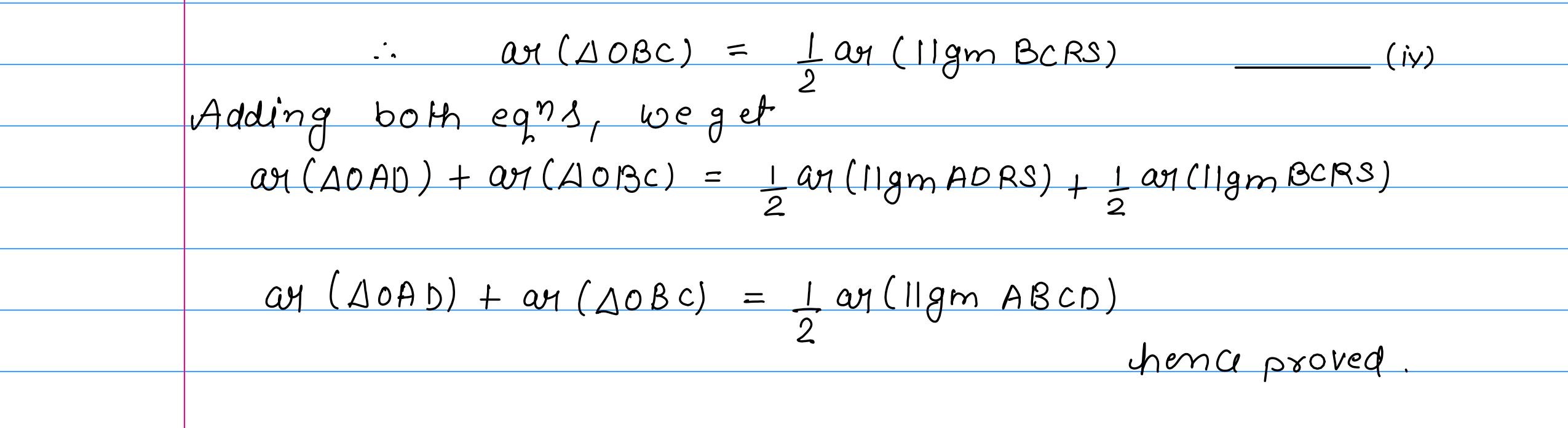 corrected solution exercise-10A area of llgm_14