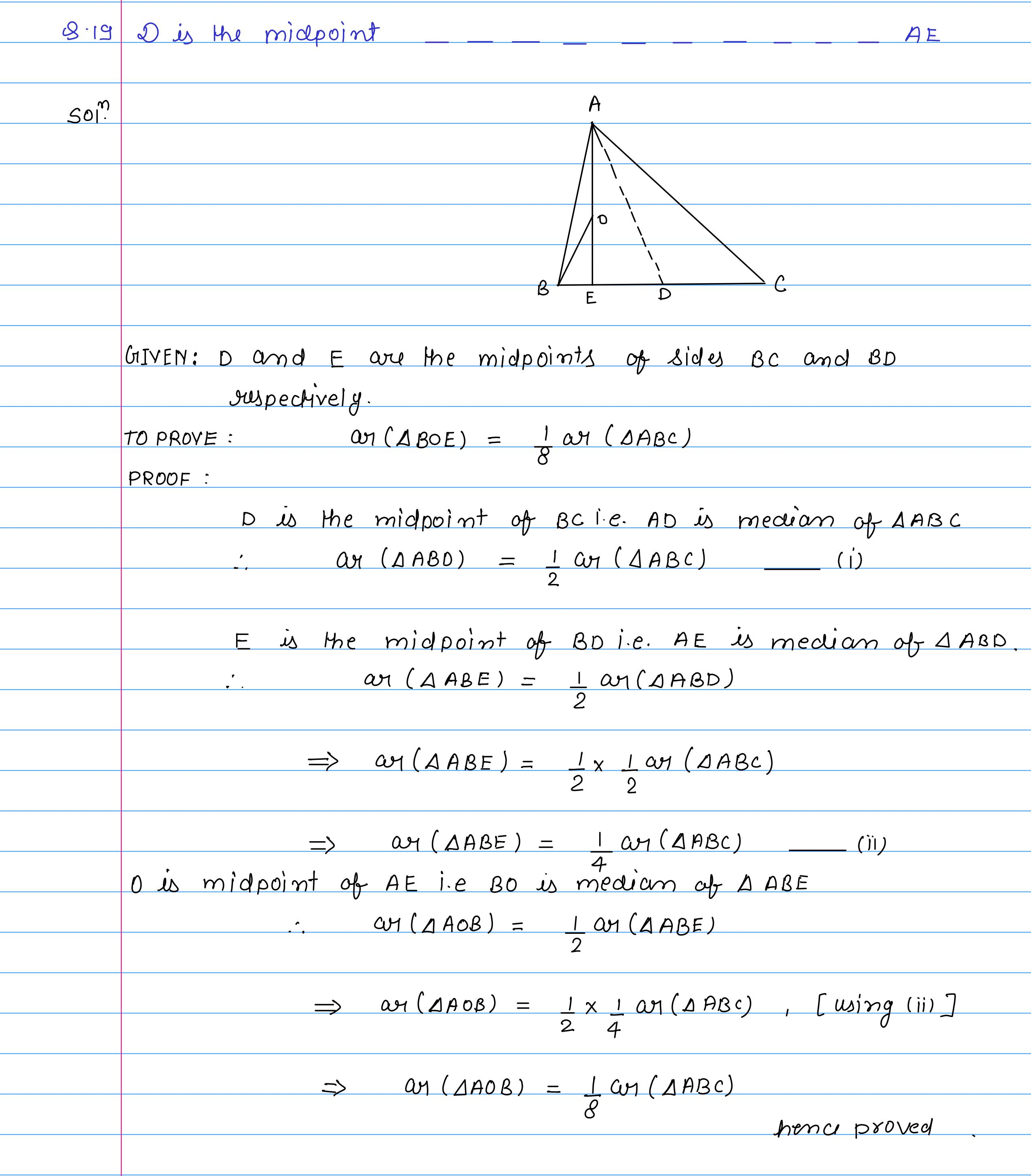 corrected solution exercise-10A area of llgm_21