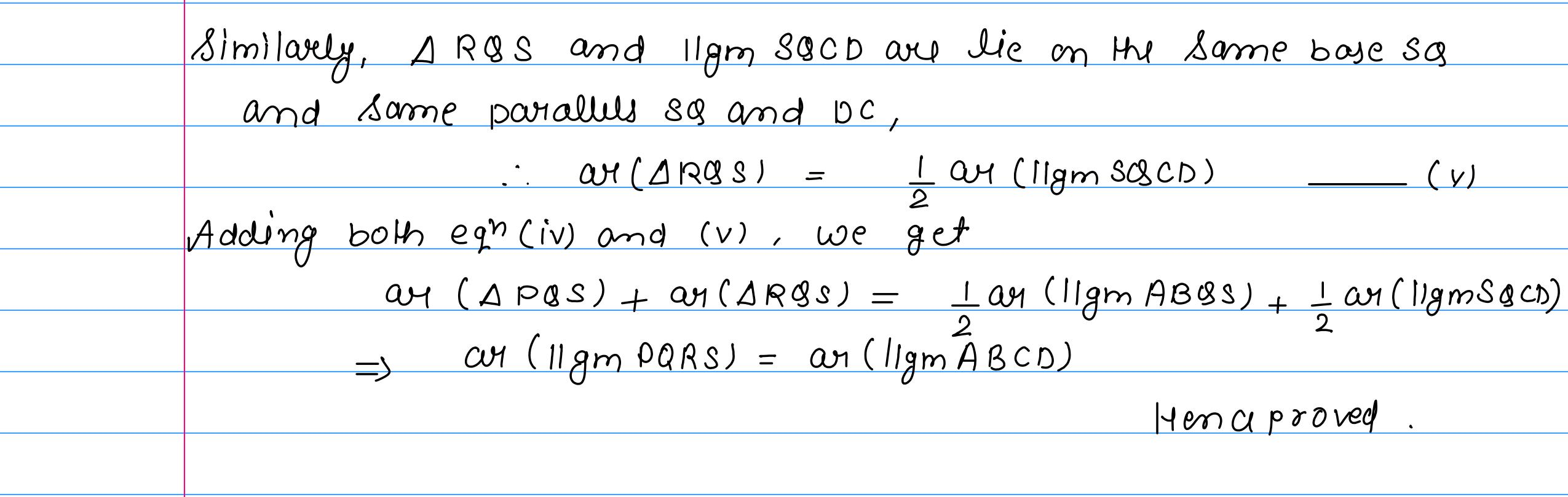 corrected solution exercise-10A area of llgm_24