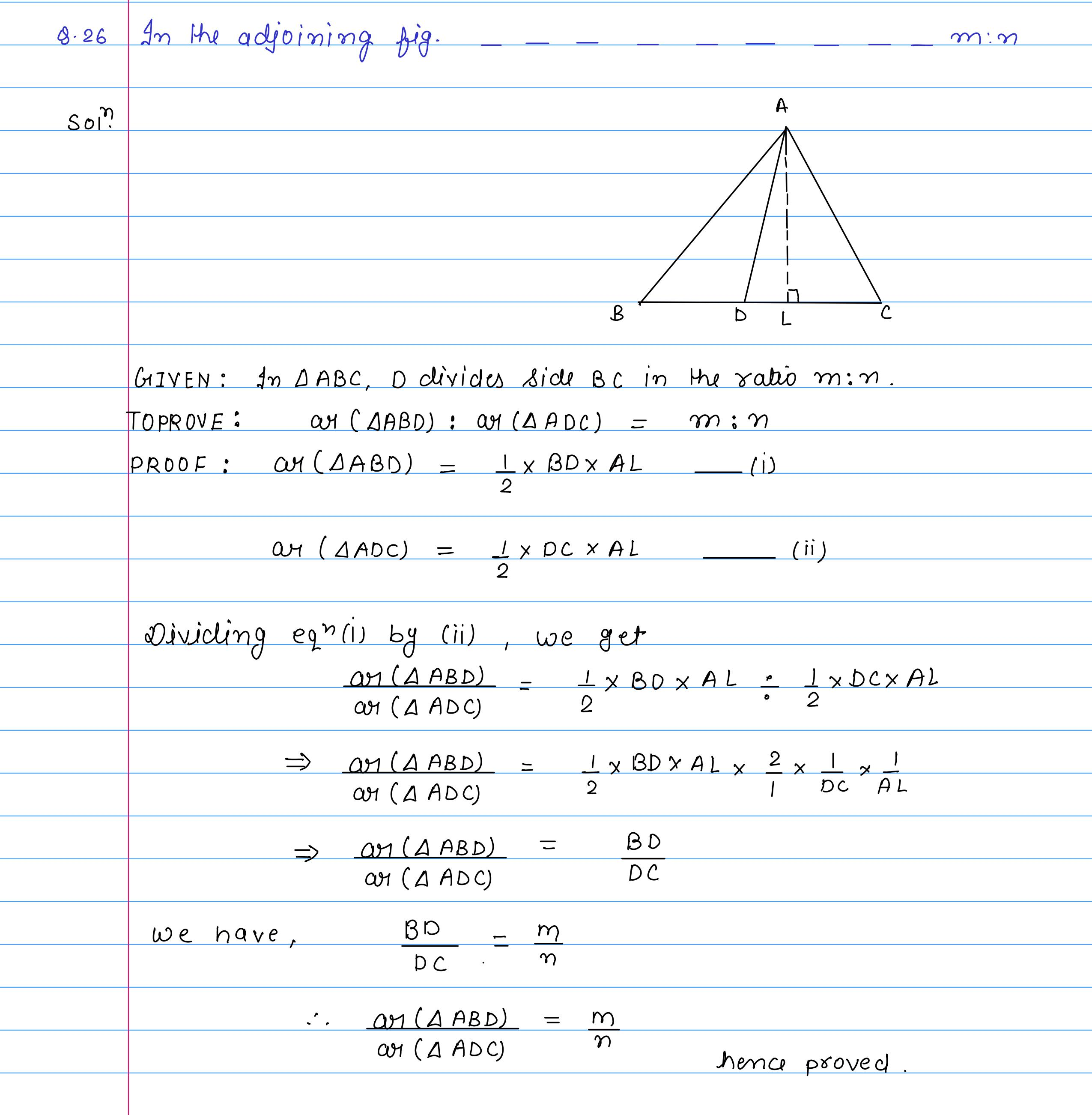 corrected solution exercise-10A area of llgm_29